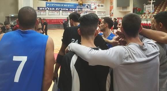 כדורסל גברים: הפסד אכזרי לצפת בגלבוע