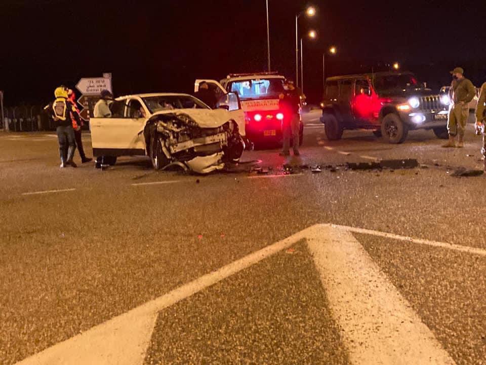 שש תאונות בצומת מתחילת השנה