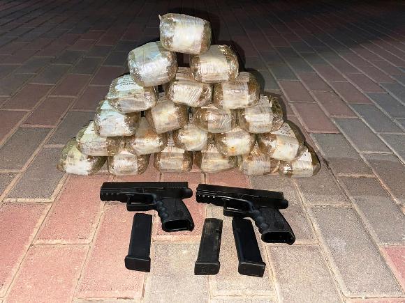 סוכלה הברחת נשק וסמים בגבול לבנון