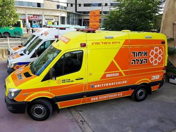 צפת: ילד נפצע קשה בתאונת דרכים